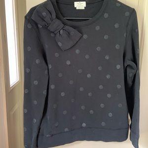 Kate Spade bow sweatshirt